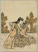 Harunobu Suzuki 1724-1770 - Flute Player