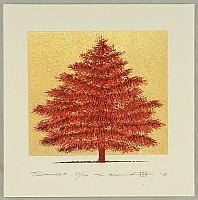Hajime Namiki born 1947 - Tree Scene 134A