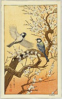 Toshi Yoshida 1911-1995 - Birds of the Seasons - Spring