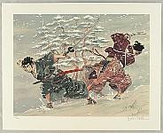 Takao Saito born 1936 - Duel in the Snow - Muyo-no-suke
