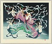 Masayuki Miyata 1926-1997 - Flying Angels - Hiten Mandara