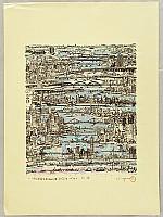 Kiyoshi Hasegawa born 1939 - Sumida River 24 Bridges