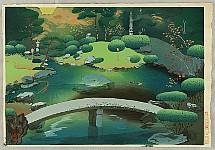 Bakufu Ono 1888-1976 - Seiren-in Garden in Autumn