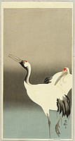 Koson Ohara 1877-1945 - Two Cranes
