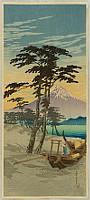 Hiroaki (Shotei) Takahashi 1871-1945 - Mt.Fuji from Miho