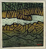 Tadashige Ono 1909-1990 - Mountain Stream