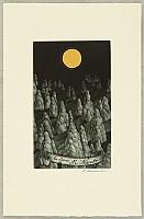 Katsunori Hamanishi born 1949 - Moonlit Forest