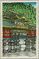 Hasui Kawase 1883-1957 - Toshogu Shrine in Nikko
