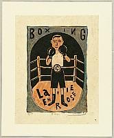 Masashi Hosoya born 1943 - Boxer