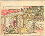 Hokusai Katsushika 1760-1849 - Pleasure of the East - Azuma Asobi - Oji