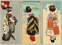 Unknown - Three Maiko Envelopes