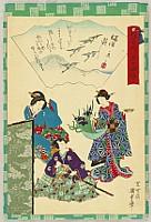 Kunisada II Utagawa 1823-1880 - Remembrance of 54 Chapters of the Tale of Genji