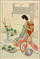 Shiro Kasamatsu 1898-1992 - Flower Arranging - Ikebana