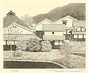 Ryohei Tanaka born 1933 - Village of White Walls