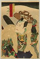 Kunisada Utagawa 1786-1865 - Man with a Hat