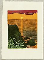 Tokio Miyashita born 1930 - Memories of Journey to Sado Island - Sunset Glow