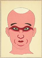 Masamitsu Ota 1892-1975 - Kabuki Makeups - Shojo Kumadori