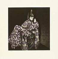 Kaoru Saito born 1931 - The Tale of Genji - Hahakigi
