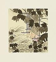 Kaoru Saito born 1931 - The Tale of Genji - Azumaya