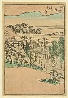 Hiroshige Ando 1797-1858 - Large Torii