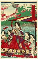 Chikanobu Toyohara 1838-1912 - Meiji Empress