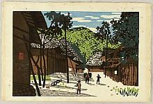Kiyoshi Saito 1907-1997 - Mountain Village