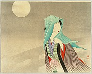 Keishu Takeuchi 1861-1942 - Full Moon