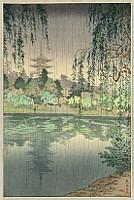 Koitsu Tsuchiya 1870-1949 - Kofuku-ji Temple