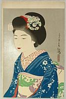 Kanpo Yoshikawa 1894-1979 - Beauty Hinazo
