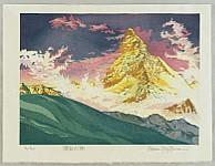 Osamu Sugiyama born 1946 - Matterhorn - Switzerland