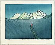 Osamu Sugiyama born 1946 - Morning Light - Mt. Dainichi - Japan