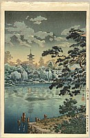 Koitsu Tsuchiya 1870-1949 - Shinobazu Pond