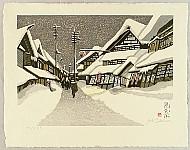 Junichiro Sekino 1914-1988 - Obanazawa