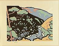 Saburo Miyata born 1924 - Landscape Complete of Japan - Kyoto -  Hozu River