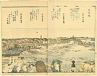 Hokusai Katsushika 1760-1849 - Views of the Eastern Capital - Nihonbashi