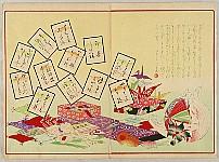 Shuntei Miyagawa 1873-1914 - Gathering Clams - Children's  Play