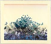 Chizuko Yoshida born 1924 - Butterflies at Dawn