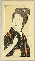 Goyo Hashiguchi 1880-1921 - Aiko - Demon Gold, Konjiki Yasha