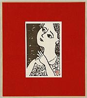Kazuo Takada 1906-1982 - Woman with a Necklace