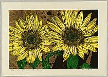 Taika Kinoshita born 1957 - Get Back - 13 - Y - Sun Flower
