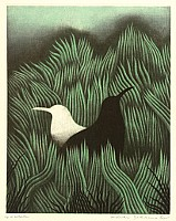 Koichi Sakamoto born 1932 - Black Bird, White Bird
