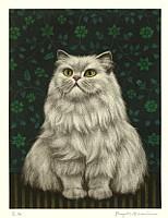 Ryo Arai 1933-2009 - Persian Cat