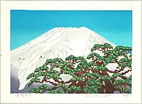Katsushi Aiwa born 1957 - Mt. Fuji in Winter