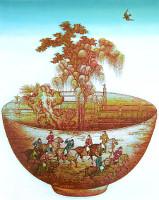 Zheng Jianhui born 1983 - Porcelain Conception - Treasure