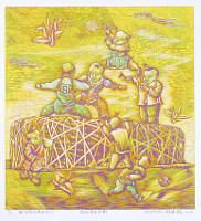 Zheng Jianhui born 1983 - Modern Angels No. 4