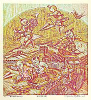 Zheng Jianhui born 1983 - Modern Angels No. 6