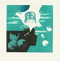 Koichi Sakamoto born 1932 - Blue Melancholia