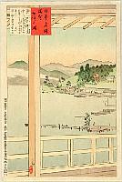 Kiyochika Kobayashi 1847-1915 - Views of the Famous Sights of Japan - Chuzenji Lake