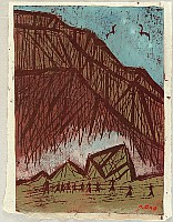 Tadashige Ono 1909-1990 - Volcanic Crater