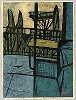 Tadashige Ono 1909-1990 - Terrace of Painter's House